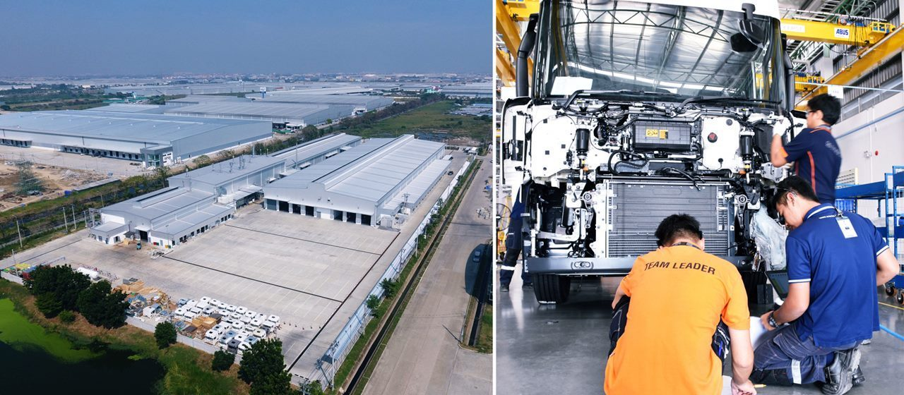 Thailand Becoming Production Hub For Heavy Trucks