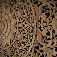 Buy Large Grand Carved Wooden Wall Art or Ceiling Panel Online