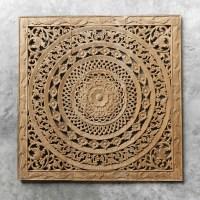 Buy Moroccan Decent Wood Carving Wall Art Hanging Online