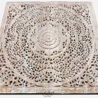 Oriental Decorative Wood Carving Wall Art Paneling - Siam ...