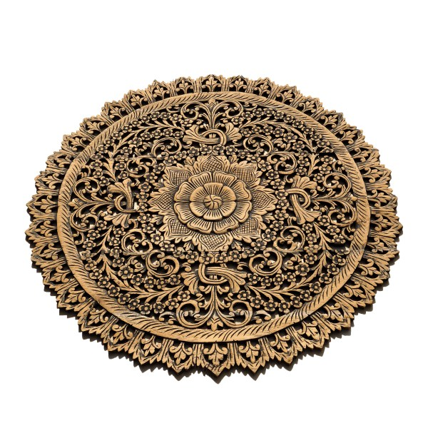 Rustic Carved Wall Art Panel Asian Home Decor Online