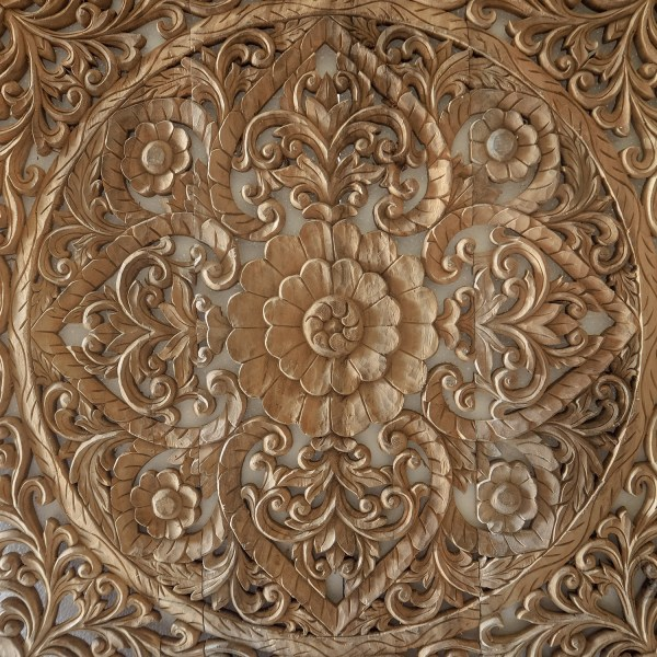 Hand Carved Wall Panel Bali Modern Wooden
