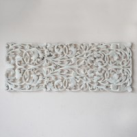 Thai Wood Carving Wall Art Hanging - Siam Sawadee