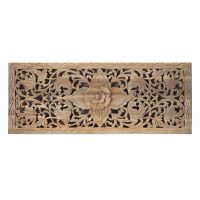 Buy Flower Wood Carving Wall Panel From Thailand Online