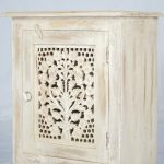 Clearance Sale Wooden Carved Night Stand Indian Design Siam Sawadee