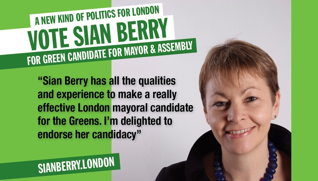Sian Berry London Green Party