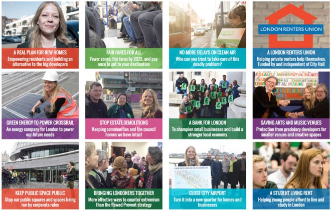 Key Green policies 2016 - images