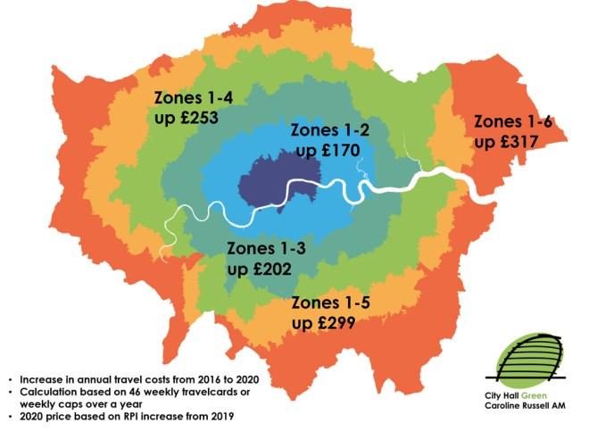 Soaring fare costs under Mayor Khan