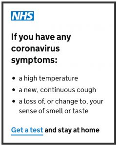 NHS Advice - click to access