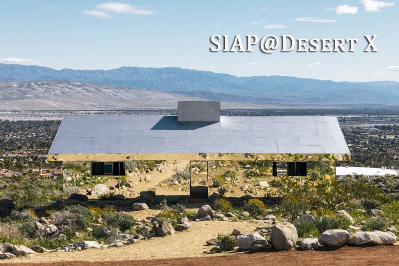 SIAP Desert X Field Trip
