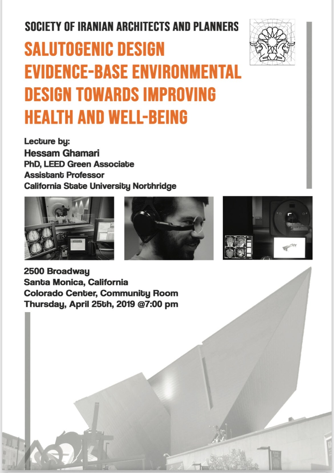 SALUTOGENIC DESIGN EVIDENCE-BASE ENVIRONMENTAL DESIGN TOWARDS IMPROVING HEALTH AND WELL-BEING