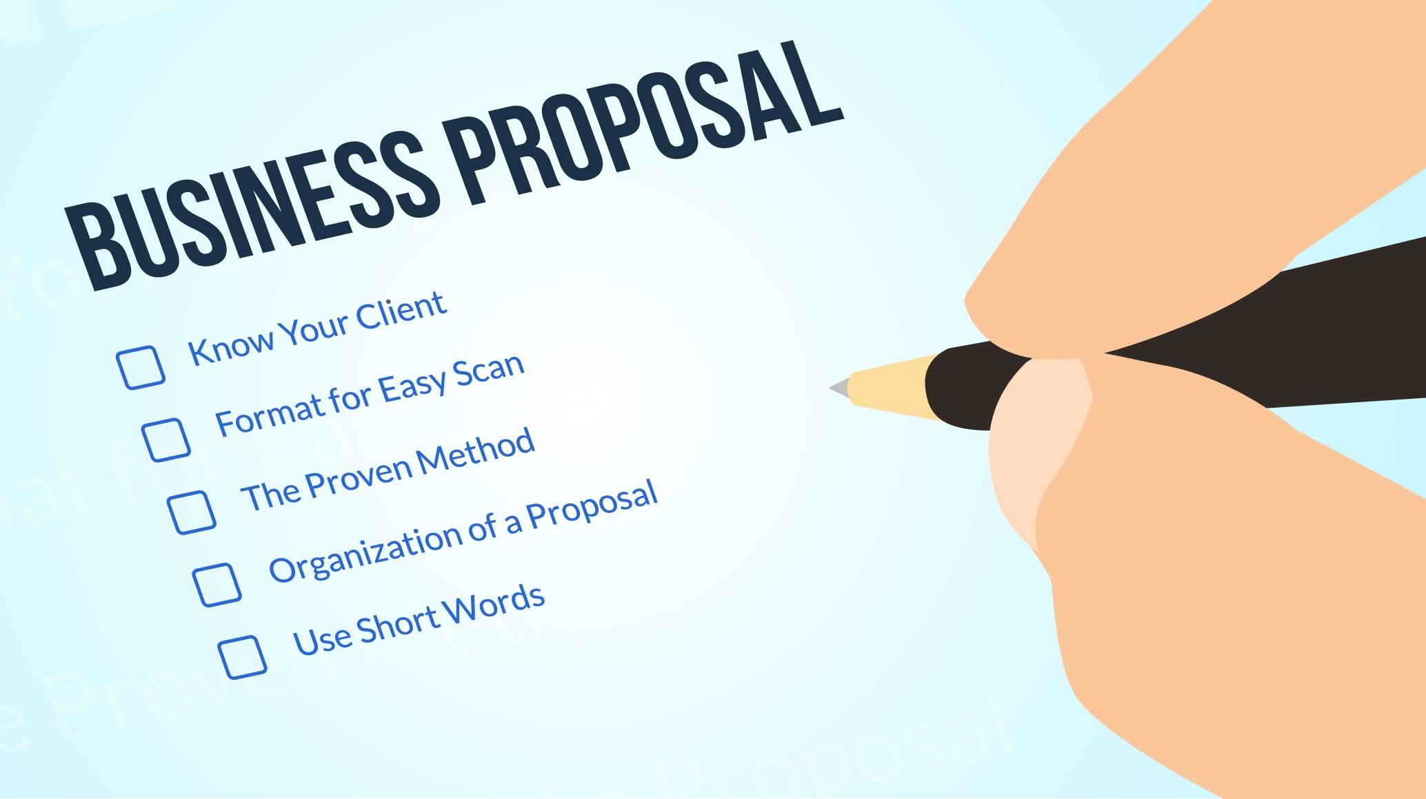 Manfaat Proposal Usaha