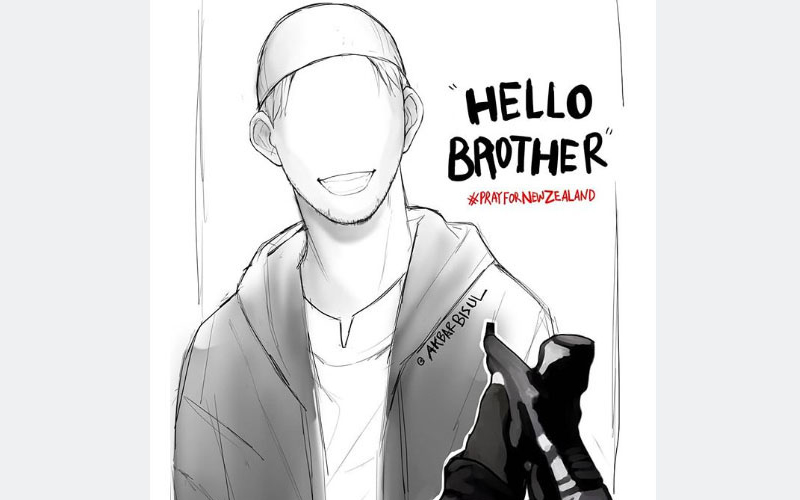 NZ Attack Wallpaper: NZ Mosque Massacre: 'Hello Brother,' Last Words From First