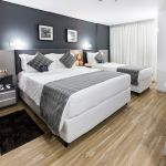 Superior Double Double Bed Single Bed Hotel Sibara Balneario Camboriu