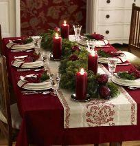 Dekori i tavolines per mbremjen e krishtlindjeve. Ja cfare u sugjerojme ne.