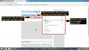 Si te shkarkojme muzike nga YouTube. Tutoriale shqip mp3 converter 17