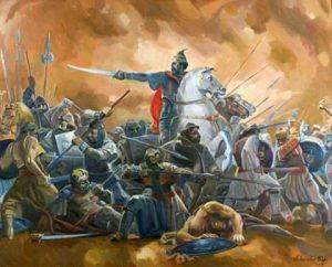 Hyjnori Gjergj Kastrioti (1405-1468) dhe Arbnori i madh, Pal Gazulli (1405-1470)