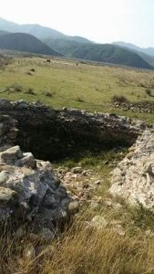 Keshtjella Iliro-Romake Castrum-Vig Kastri i Vigut ne fshatin Vig 2