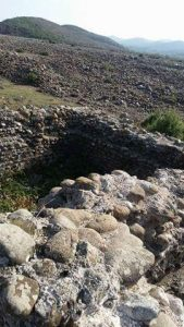 Keshtjella Iliro-Romake Castrum-Vig Kastri i Vigut ne fshatin Vig 4