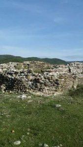 Keshtjella Iliro-Romake Castrum-Vig Kastri i Vigut ne fshatin Vig 7