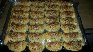 Kifla te mbushura me djathe. Receta gatimi. Kuzhina shqiptare