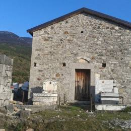 Kisha e Shen Gjinit , Shen Gjonit ne fshatin piktoresk Kallmet i Vogel, Lezhe Dom Ndre Simoni