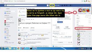 Kush shikon profilin tim ne Facebook. Tutoriale shqip. viziton profilin ne 3