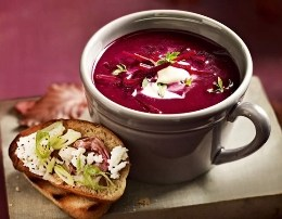 Supe krem me panxhar. Receta gatimi. Gatuaj shendetshem
