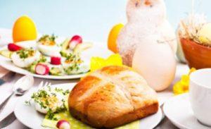 Cfare nuk duhet te mungoje ne mengjesin e Pashkeve. mengjesin e bekuar te pashkes