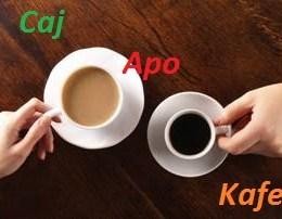 Caj apo Kafe. Cila eshte zgjedhja me mire per shendetin tuaj?