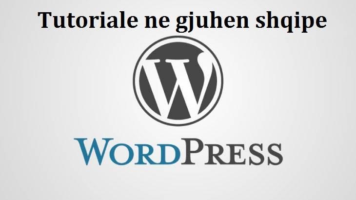 Si te bejme Enable Editor ne Wordpress. Tutoriale Shqip per faqet wordpress. file manager new 1