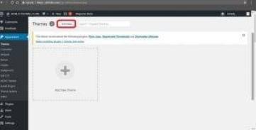 2 Si te instalojme nje theme (template) te re ne WordPress. Tutoriale Shqip.