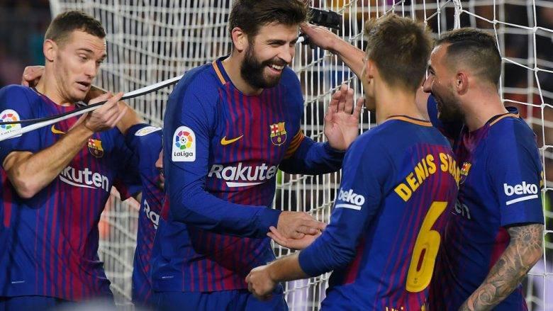 Rinovimi i kontratave. Cilet jane tre yjet e tjere pervec Piques qe barcelona i do per vete.