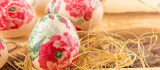 Menyra te vecanta per dekorimin e vezeve te Pashkeve. :)