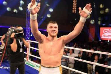 Boksieri shqiptar Jurgen Uldedaj synon titullin per kampion bote WBO Junior 4