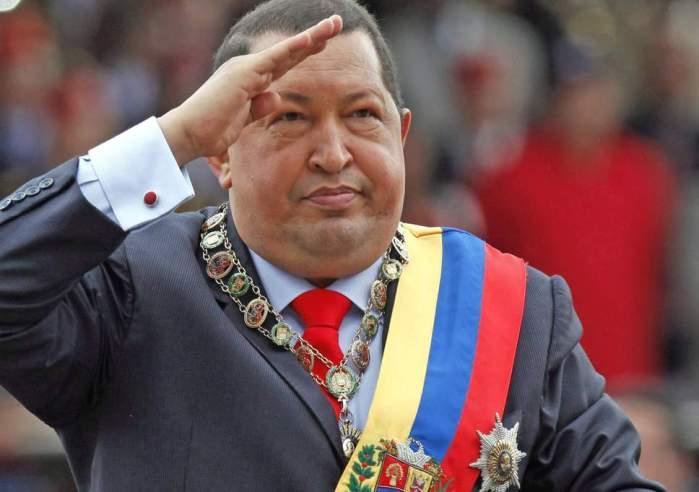 Hugo Chavez. Ish president i Venezueles.