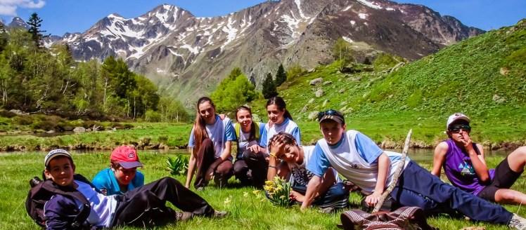 Randonnée Ariège groupe scolaire Vallée d'Orlu