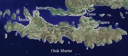 SibenikCroatiainfo  Island Murter and Murter city