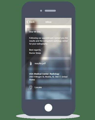 Siberian CMS App Maker's Inbox feature