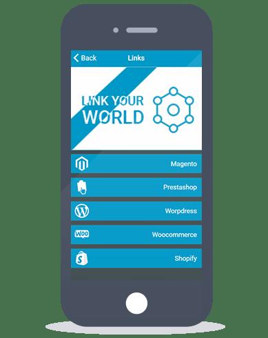 Siberian CMS App Maker's Link feature