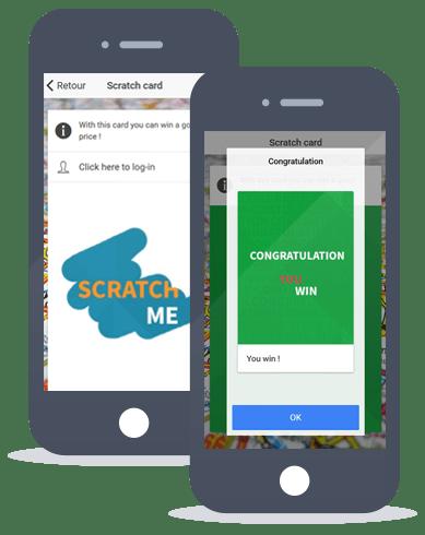 App Maker feature scratch card