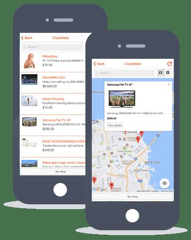 classifieds-app-maker | Swiftspeed Appcreator