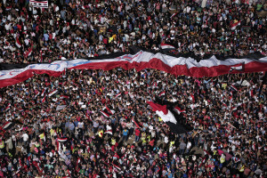 Egyptians protest in Cairo