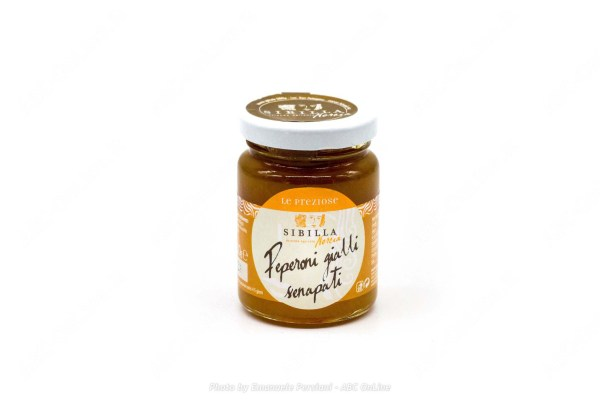 Salsa dolce peperoni gialli