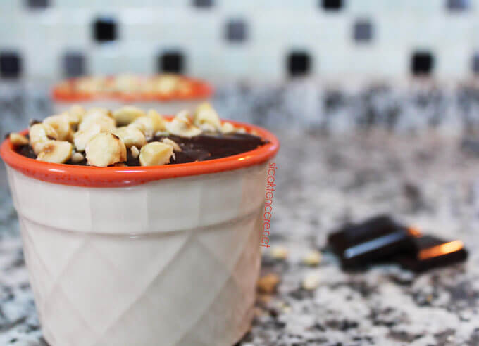 Kakaolu puding