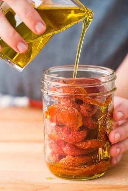 kuru domates yapımı