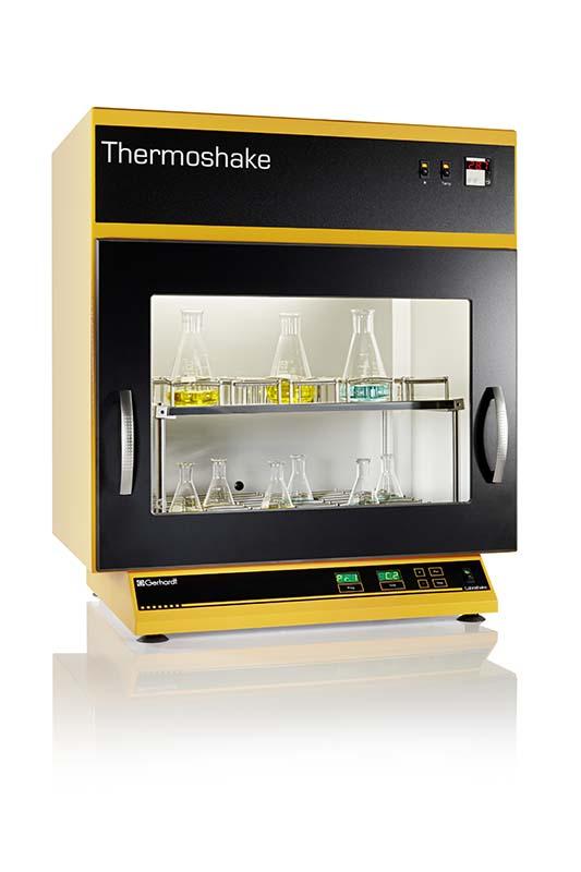 agitador incubador modelo thermoshake sica medicion