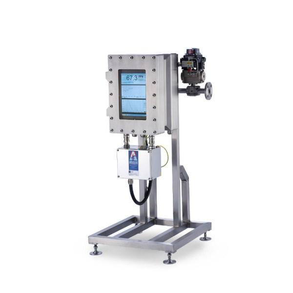 analizador de aceite en agua de flujo lateral sica medicion