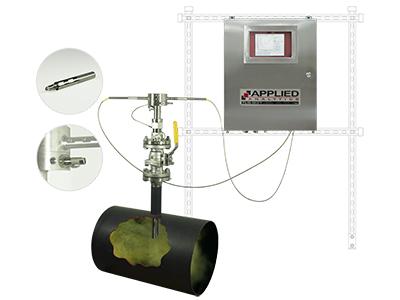 analizador gas en pozo de azufre sica medicion