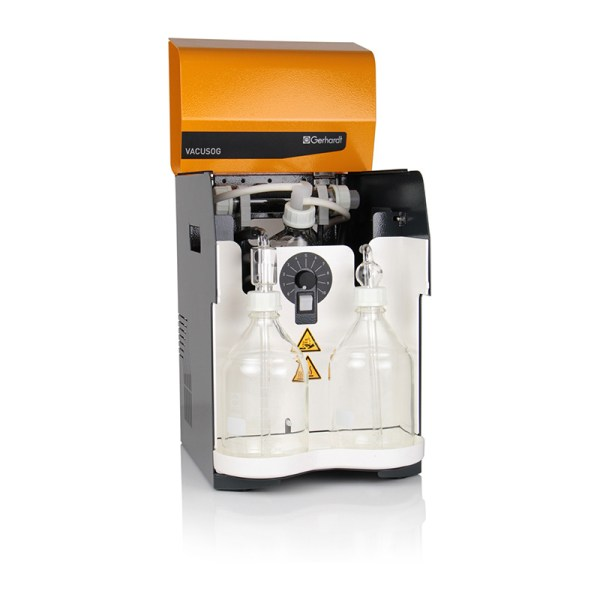 lavador de gases vacusog marca gerhardt sica medicion
